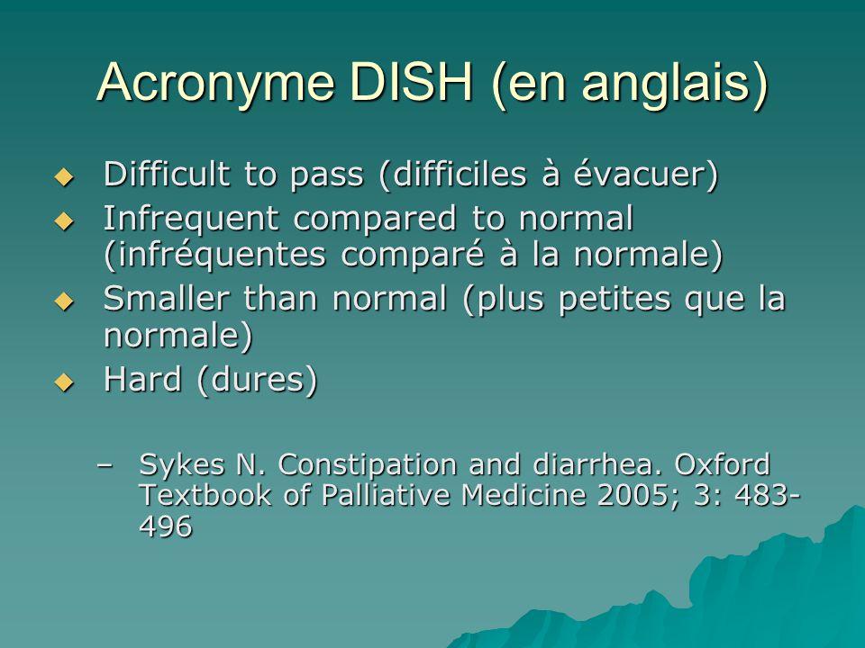Acronyme DISH (en anglais)