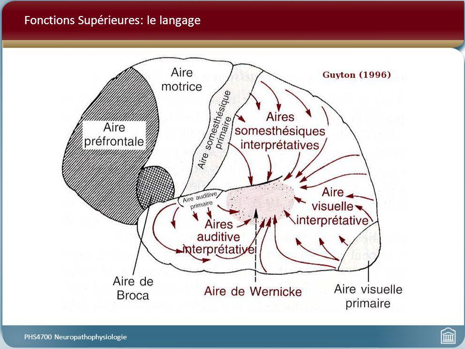 Fonctions Supérieures: le langage