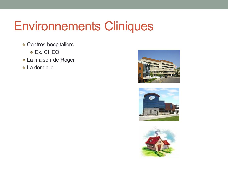 Environnements Cliniques