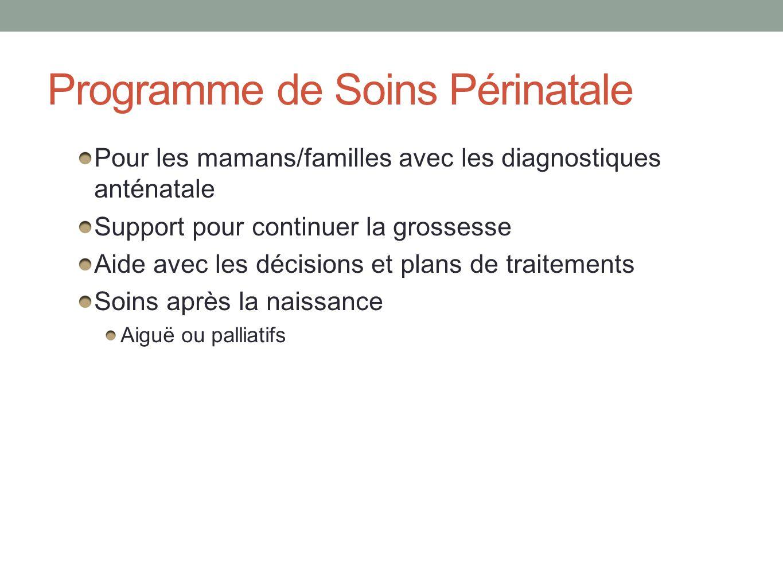 Programme de Soins Périnatale