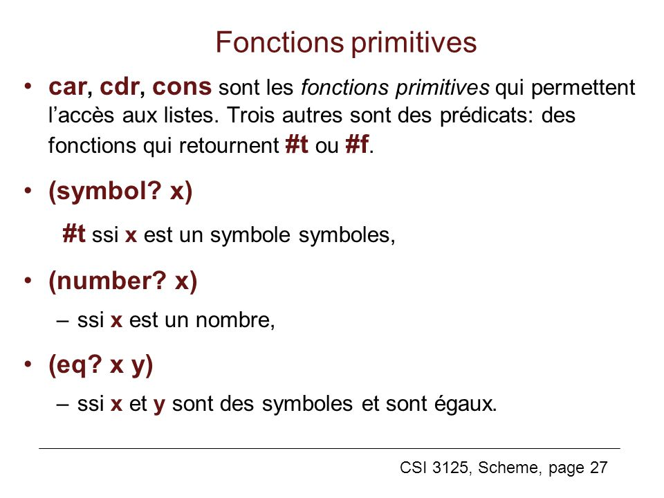 Fonctions primitives