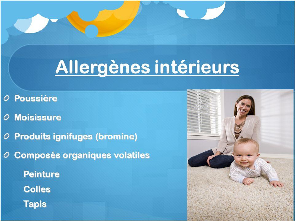 Allergènes intérieurs