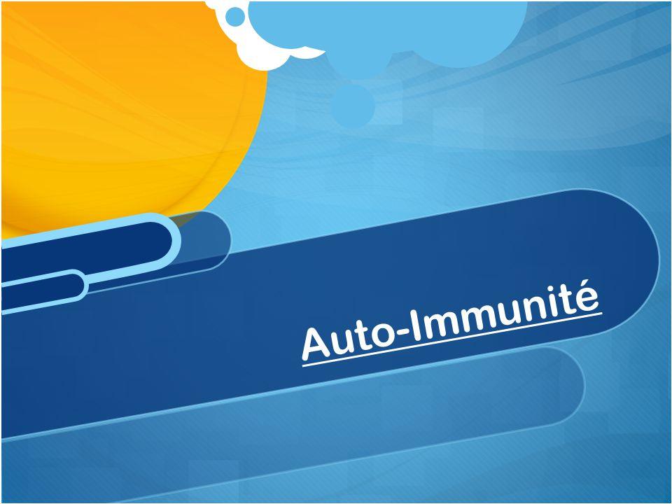 Auto-Immunité
