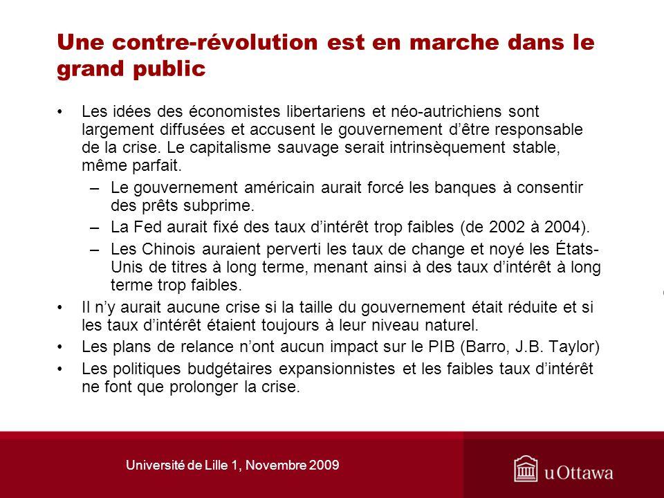 Une contre-révolution est en marche dans le grand public