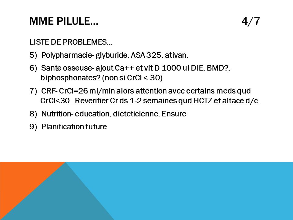 MME PILULE… 4/7