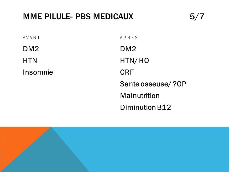 Mme pilule- pbs medicaux 5/7