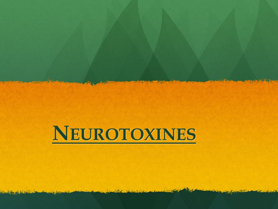 Neurotoxines