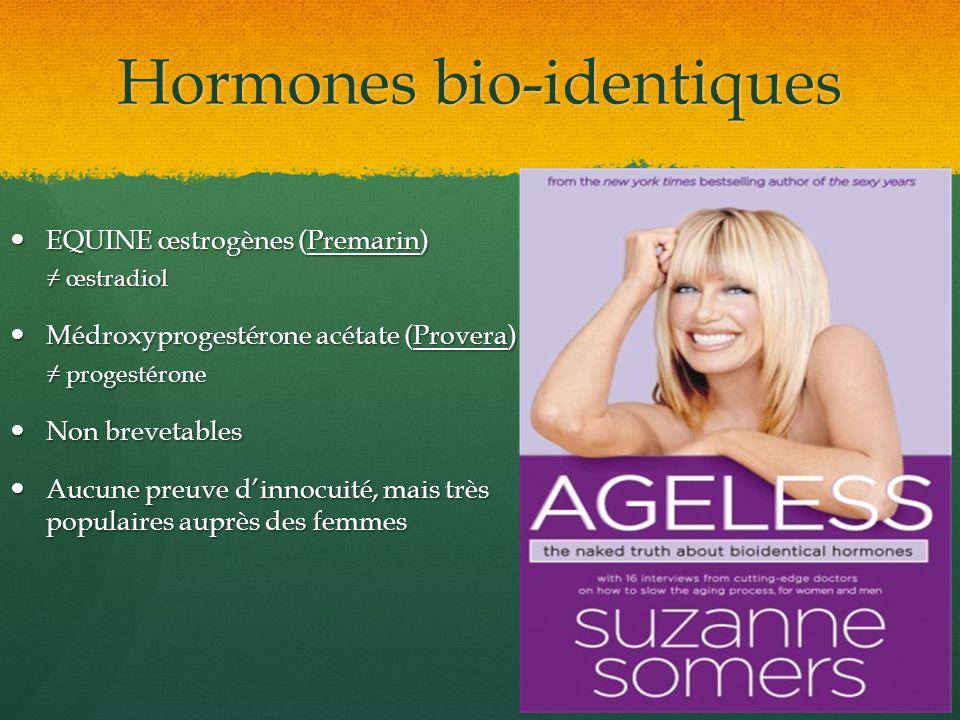 Hormones bio-identiques