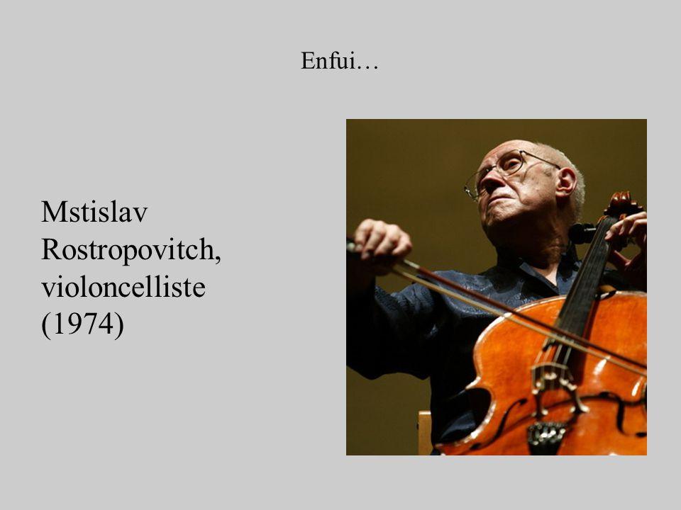 Rostropovitch, violoncelliste (1974)