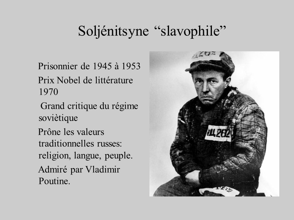 Soljénitsyne slavophile