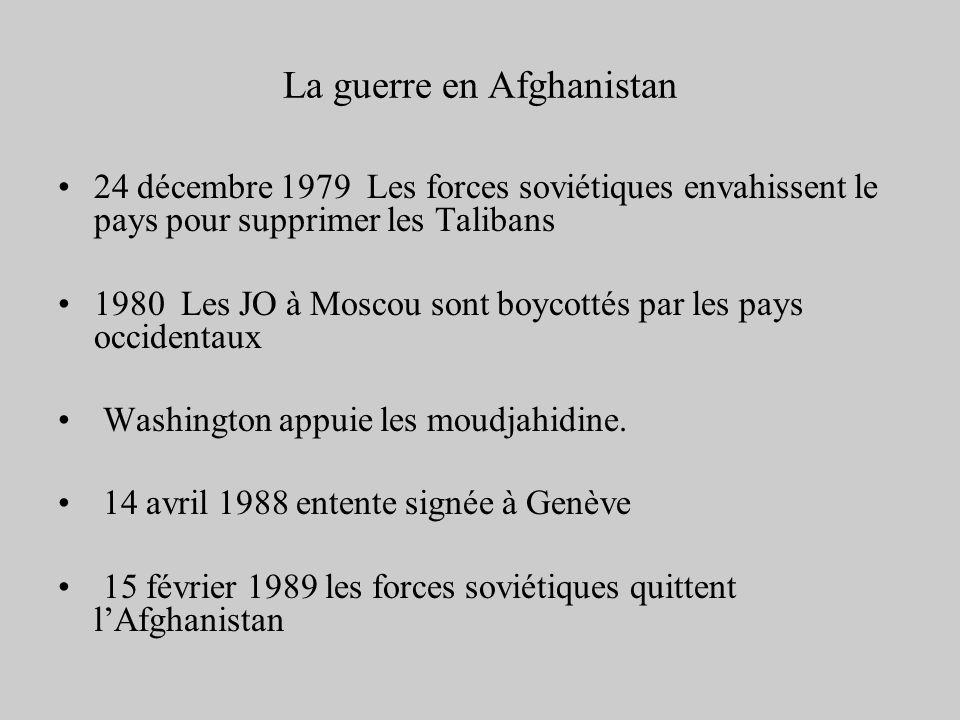 La guerre en Afghanistan