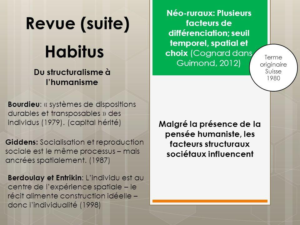 Du structuralisme à l'humanisme