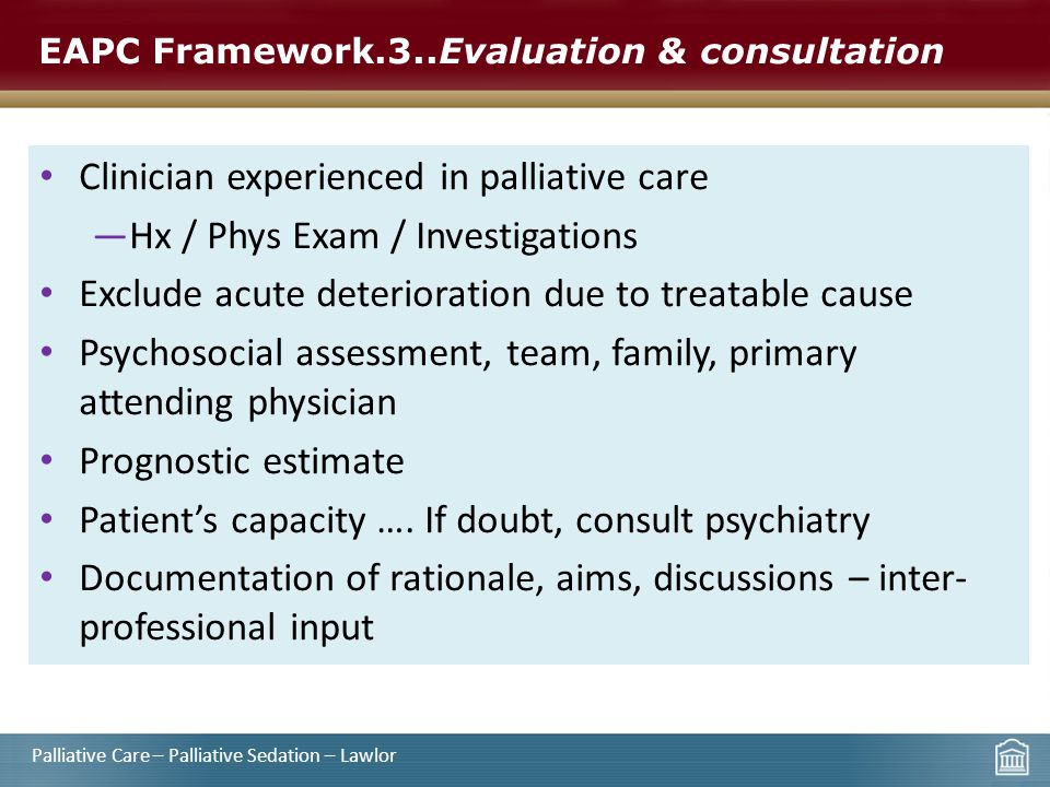 EAPC Framework.3..Evaluation & consultation