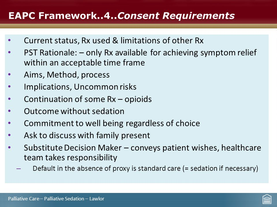 EAPC Framework..4..Consent Requirements