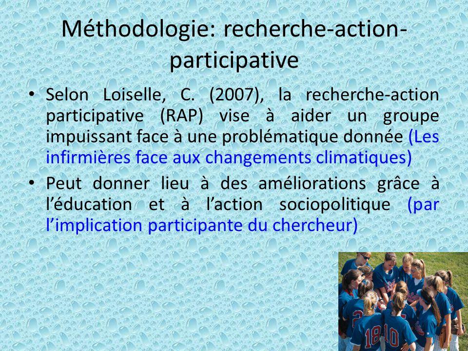 Méthodologie: recherche-action-participative
