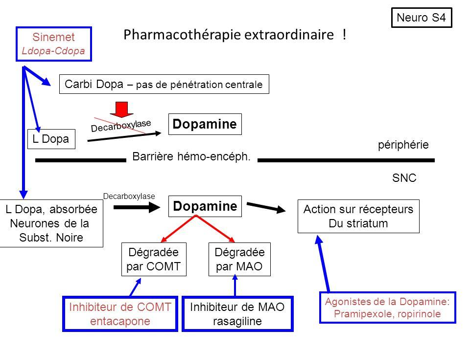 Pharmacothérapie extraordinaire !