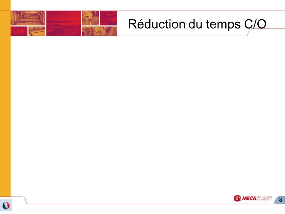 Réduction du temps C/O