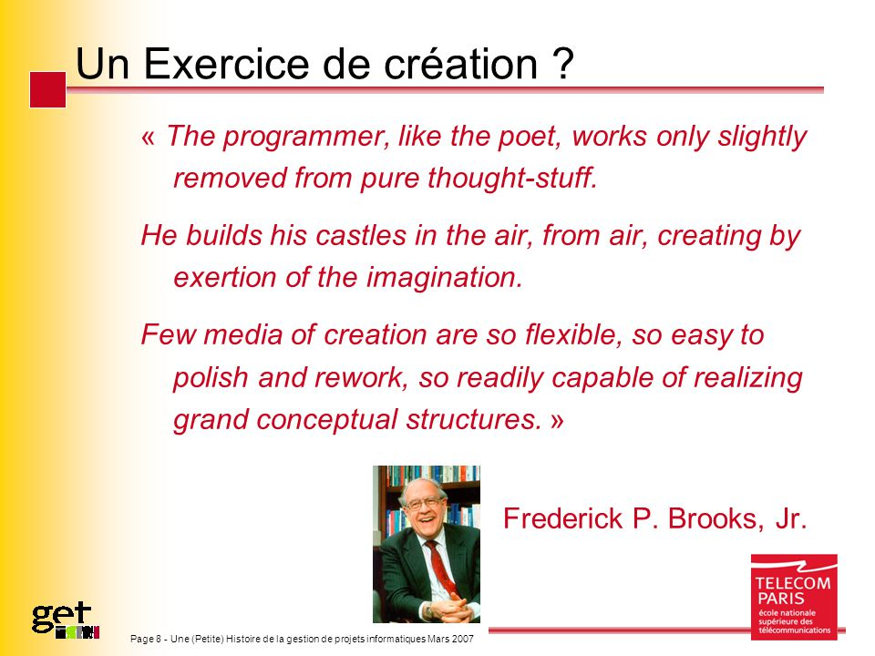 Un Exercice de création