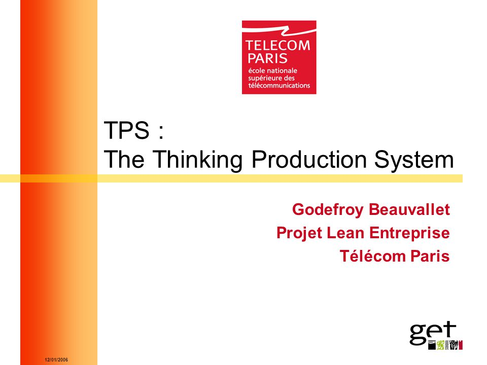 TPS : The Thinking Production System