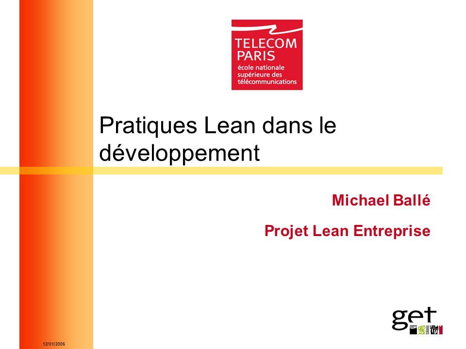 Pratiques Lean dans le développement