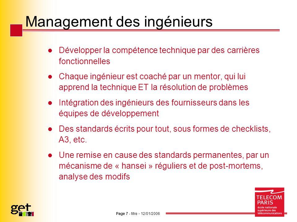Management des ingénieurs