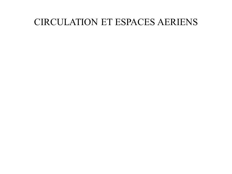 CIRCULATION ET ESPACES AERIENS
