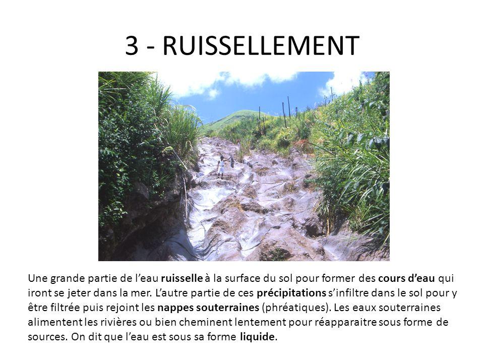 3 - RUISSELLEMENT