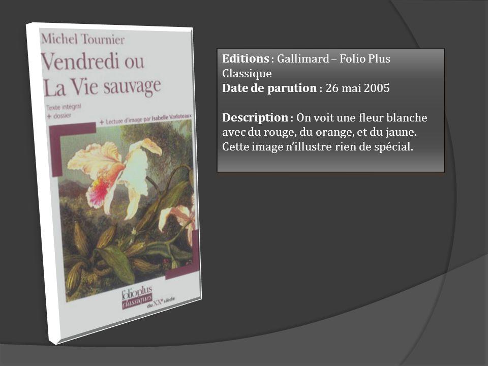 Editions : Gallimard – Folio Plus Classique