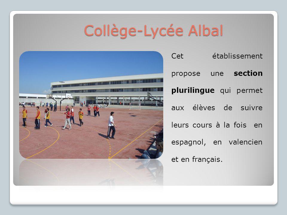 Collège-Lycée Albal