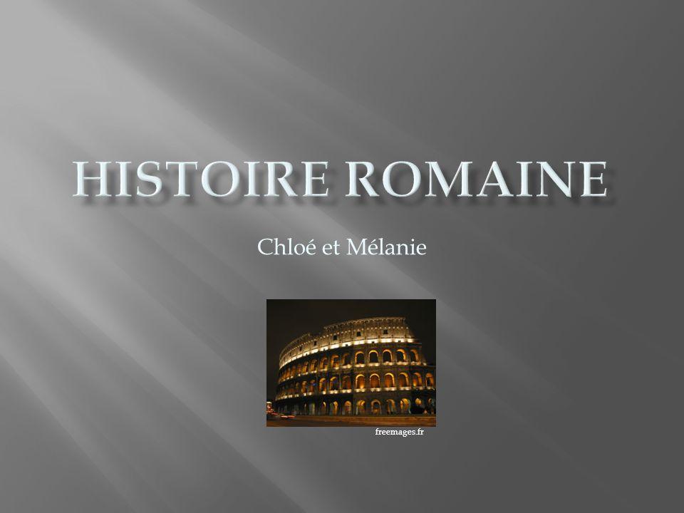 Histoire romaine Chloé et Mélanie freemages.fr