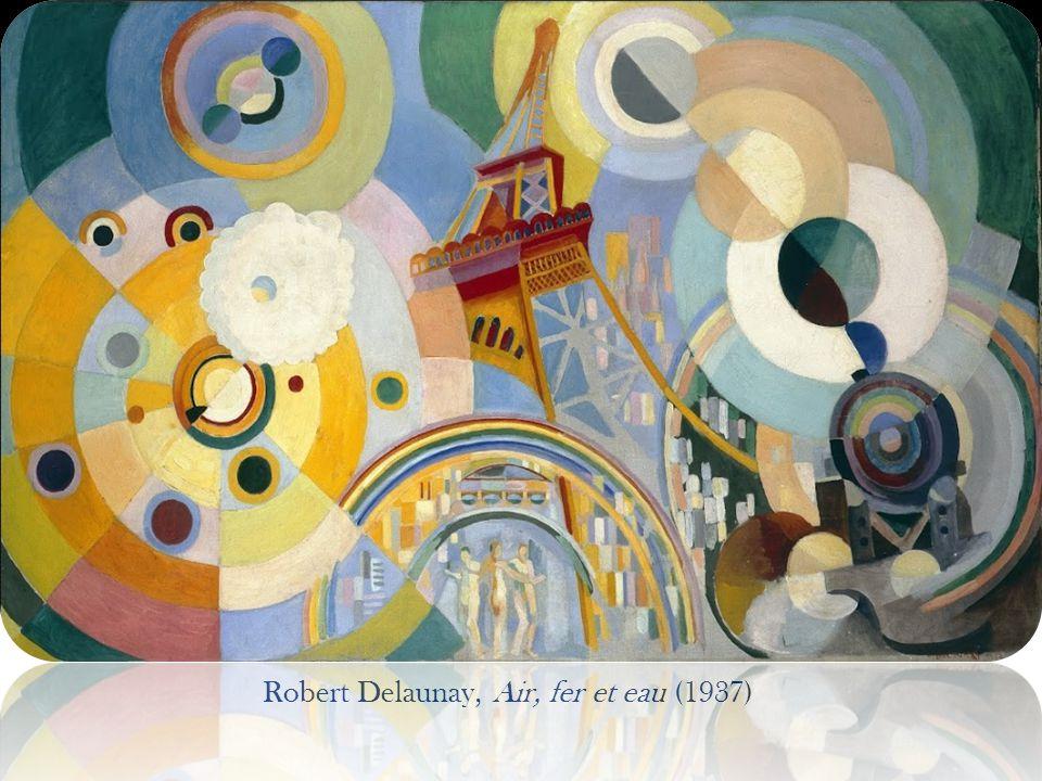 Robert Delaunay, Air, fer et eau (1937)