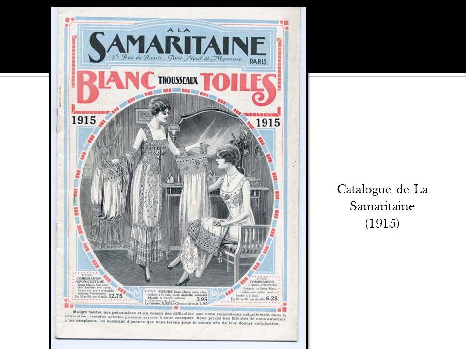 Catalogue de La Samaritaine (1915)