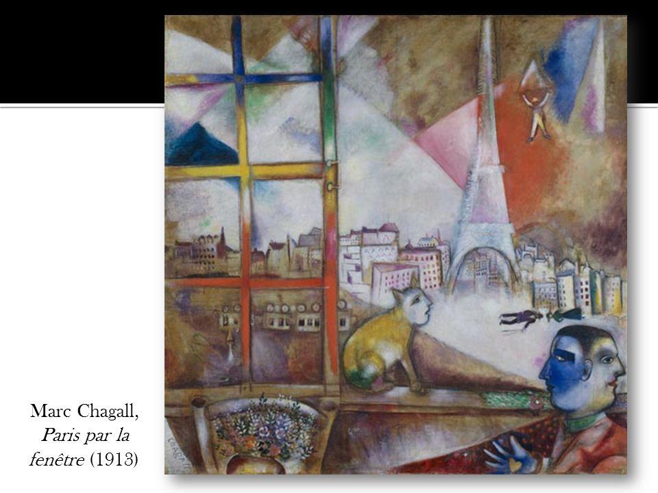 Marc Chagall, Paris par la fenêtre (1913)