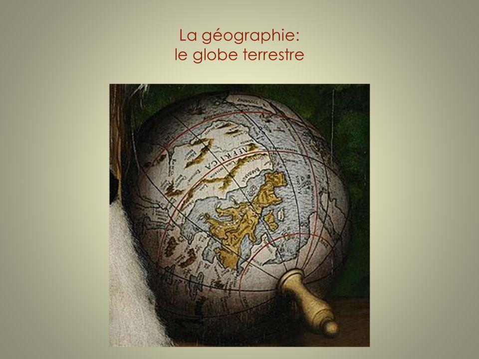 La géographie: le globe terrestre