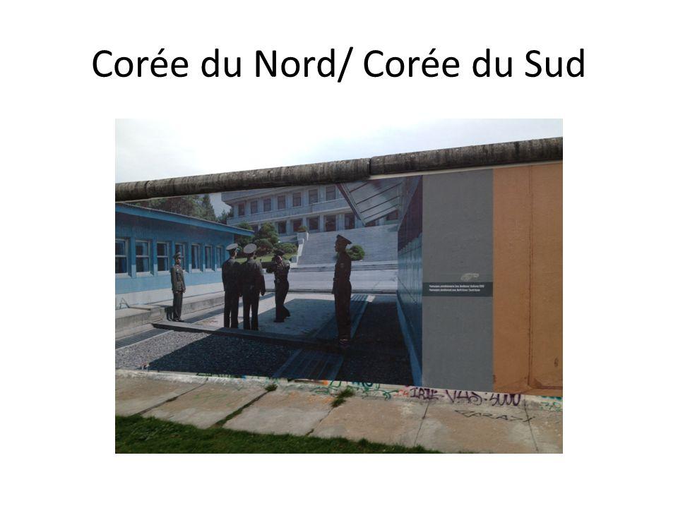 Corée du Nord/ Corée du Sud