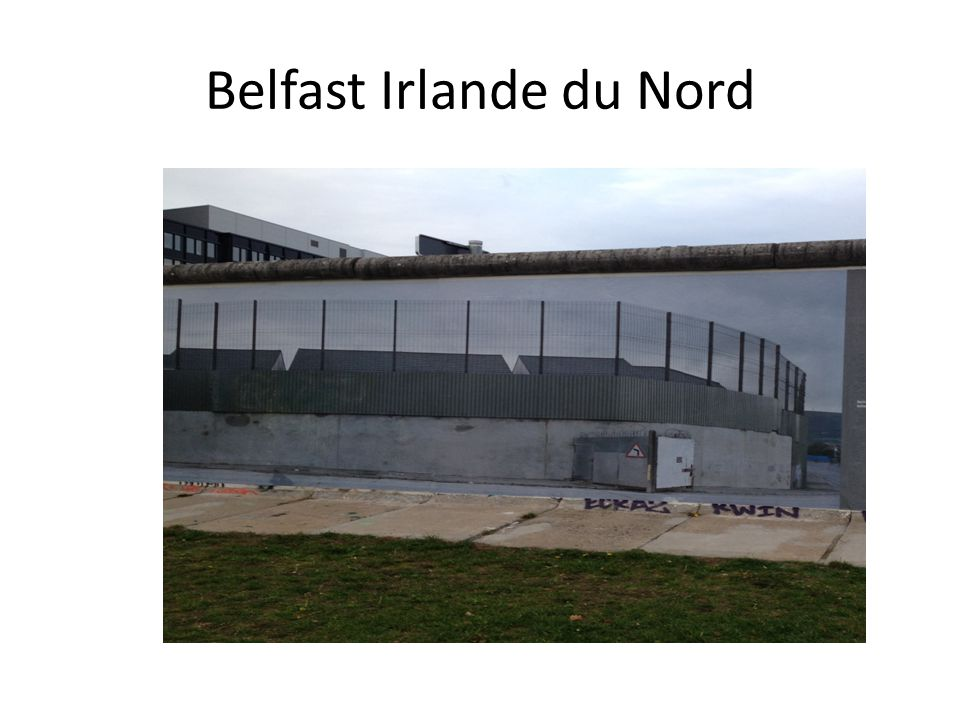Belfast Irlande du Nord