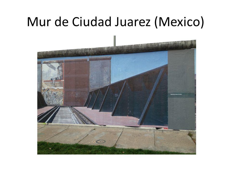 Mur de Ciudad Juarez (Mexico)
