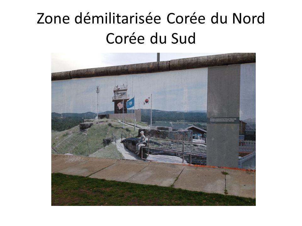 Zone démilitarisée Corée du Nord Corée du Sud