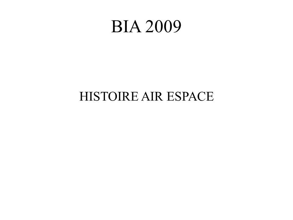 BIA 2009 HISTOIRE AIR ESPACE