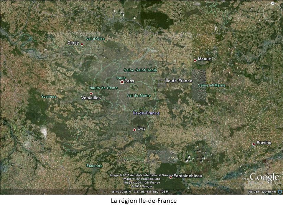 La région Ile-de-France