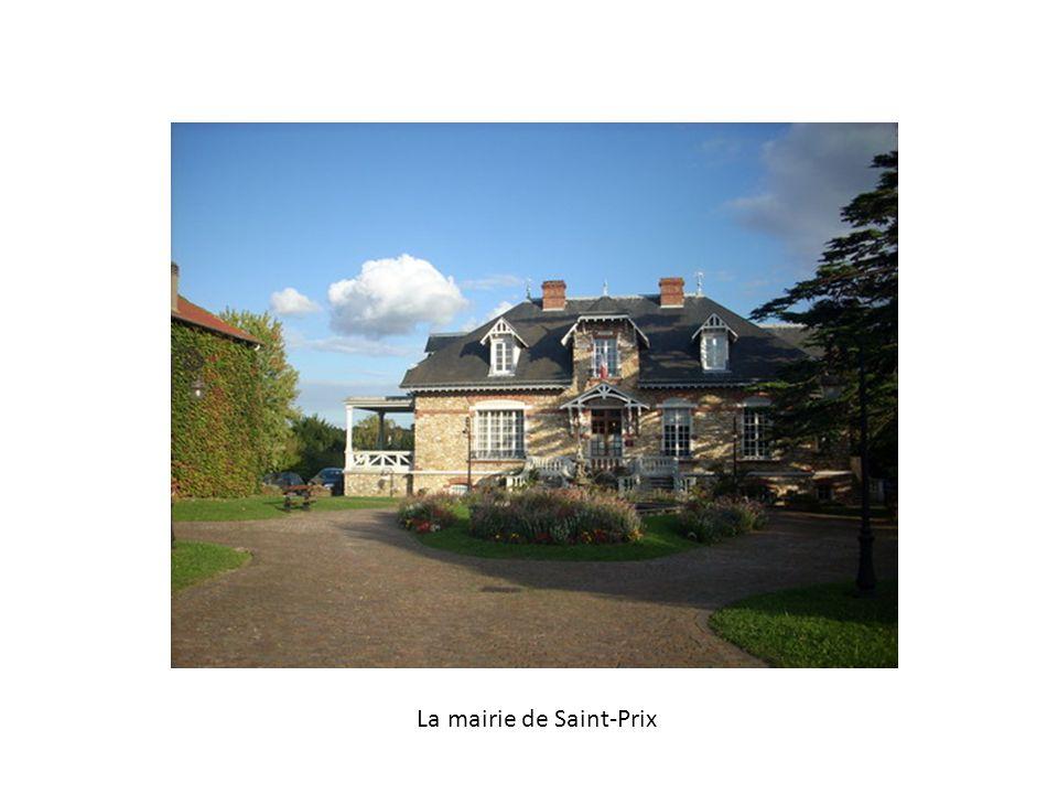 La mairie de Saint-Prix