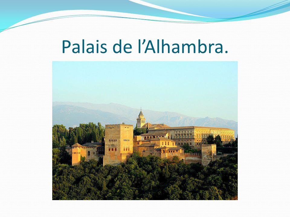 Palais de l'Alhambra.