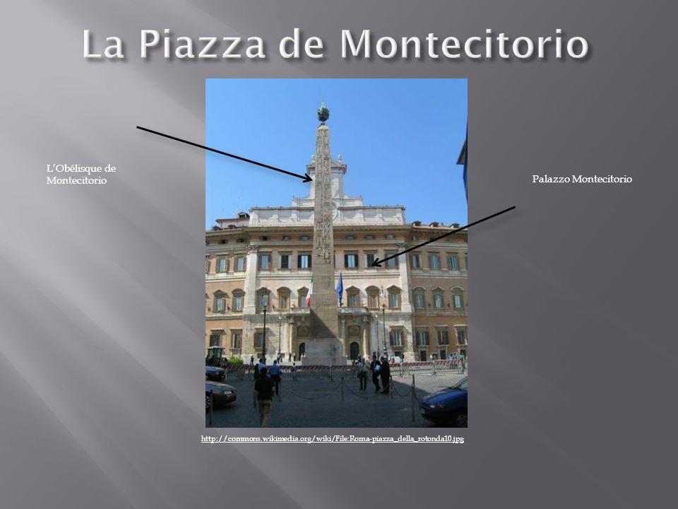 La Piazza de Montecitorio