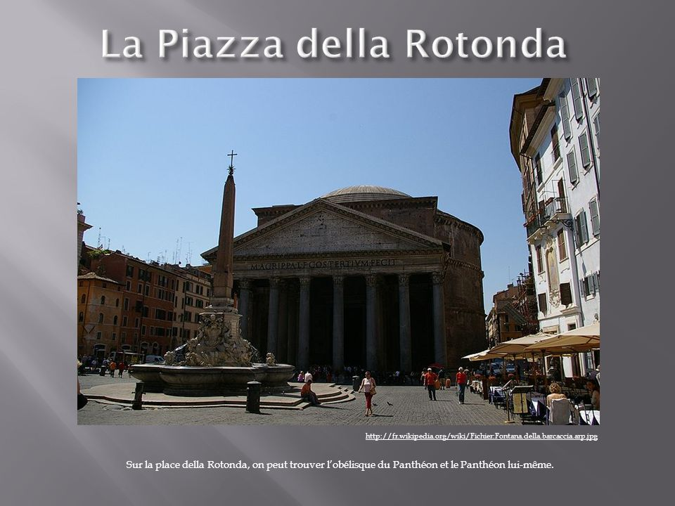 La Piazza della Rotonda