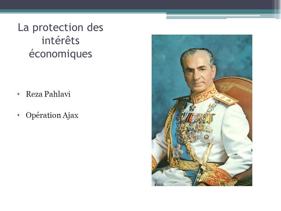 La protection des intérêts économiques