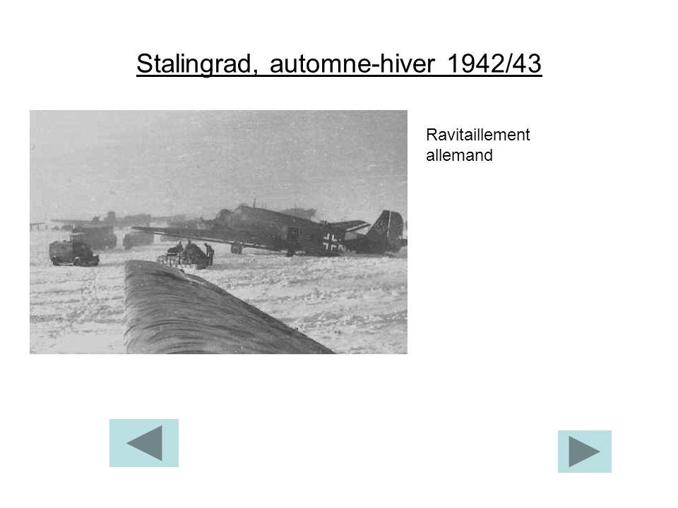 Stalingrad, automne-hiver 1942/43