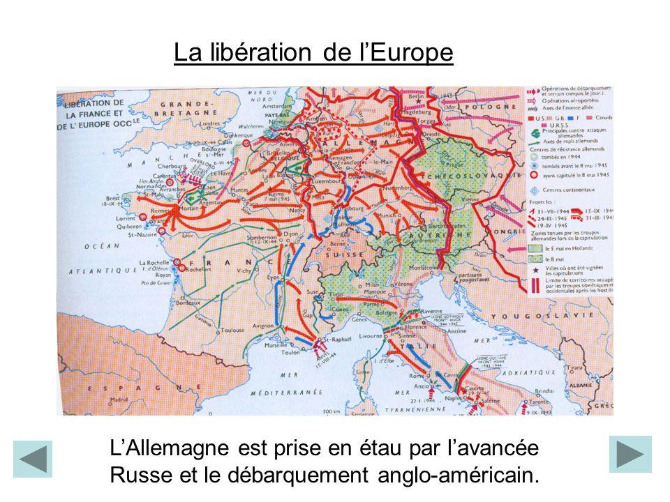 La libération de l'Europe