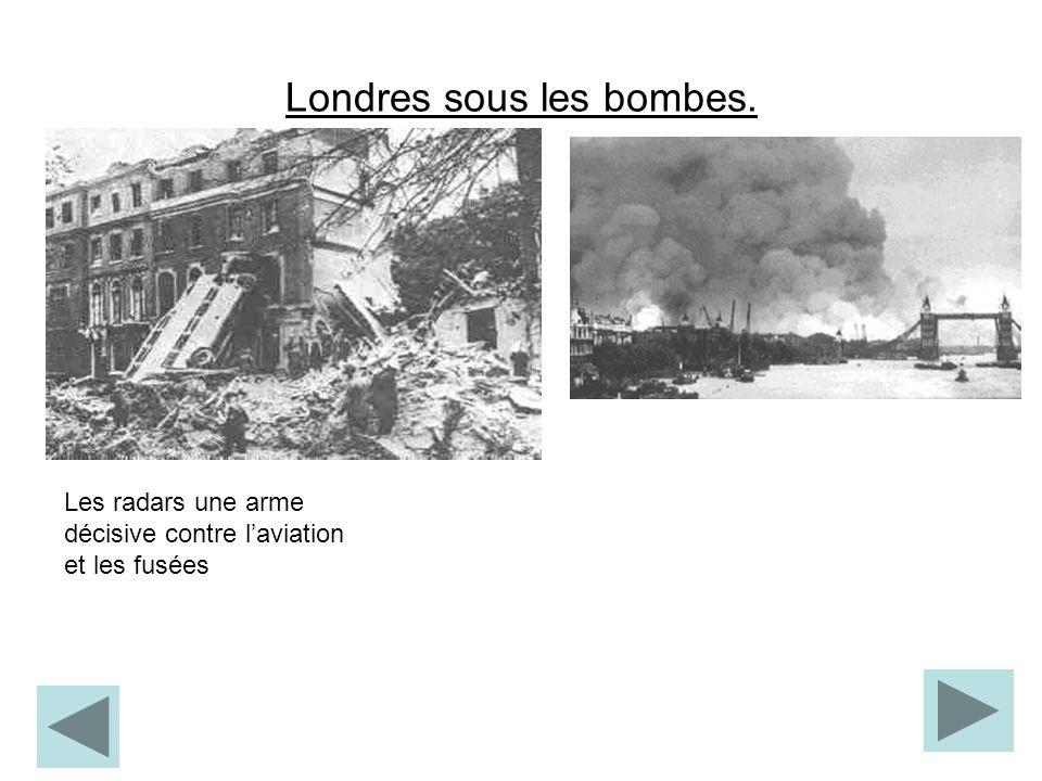 Londres sous les bombes.
