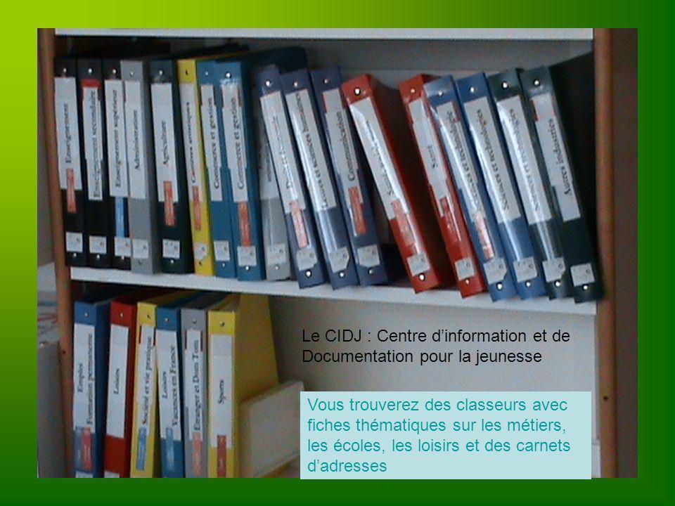 Le CIDJ : Centre d'information et de Documentation pour la jeunesse