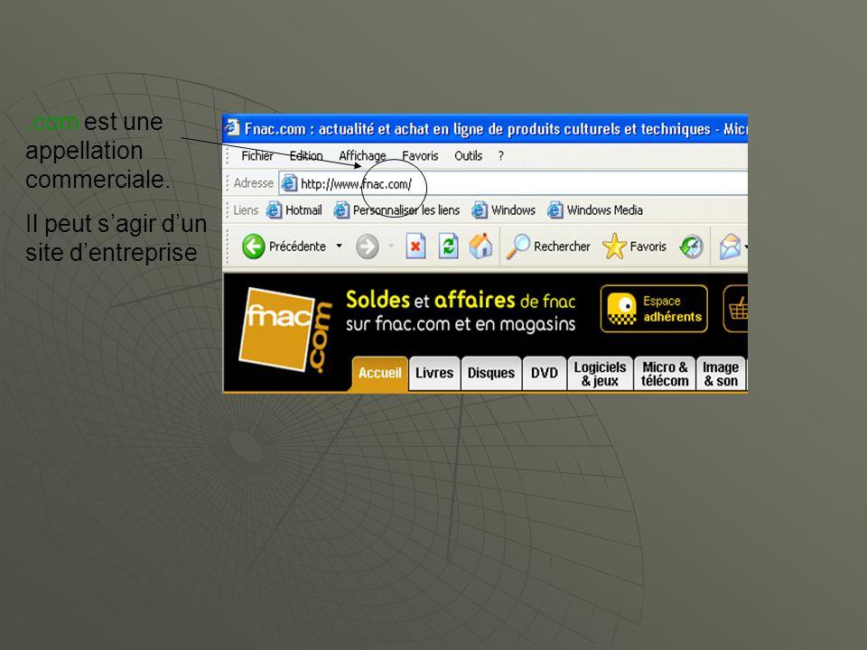 .com est une appellation commerciale.